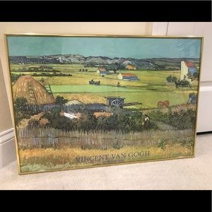 Professionally Framed Vincent Van Gogh